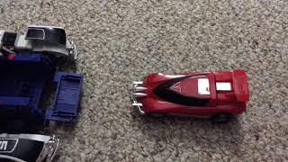 Power Rangers Turbo megazord stop-motion Animation