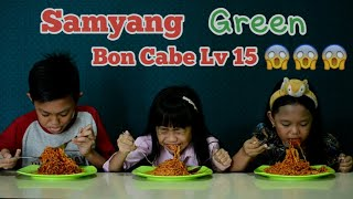 "SAMYANG GREEN BON CABE LEVEL 15 CHALLANGE INDONESIA "" KAYLA, KELVIN N NABILA """
