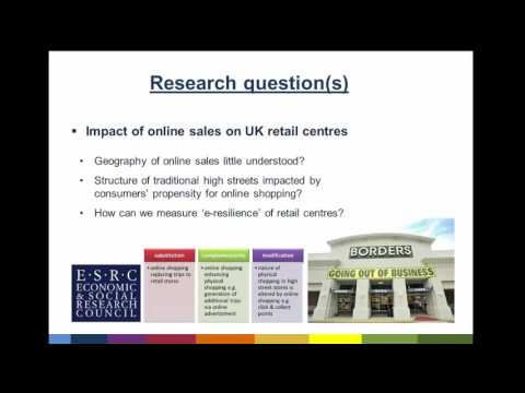 Webinar: The impact of online shopping on the UK high street
