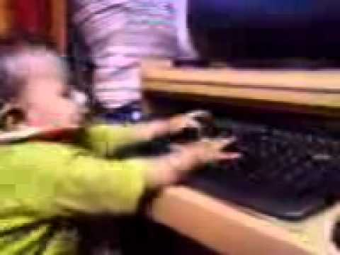 India Youngest  Computer Operator.3gp video