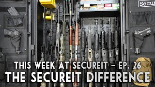 Gun Safes, Cabinets and Storage - SecureIt is different, here how and why
