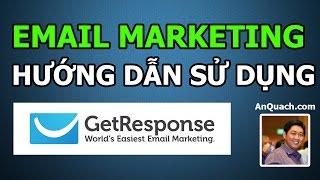 Hướng dẫn sử dụng Getresponse để làm Email Marketing