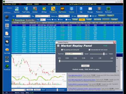 StockVision Series: Market Replay