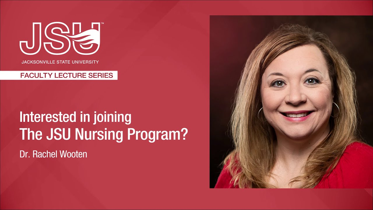 有兴趣参加JSU护理课程吗?