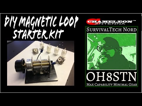 Build the Ultimate DIY Magnetic Loop Antenna  Series for Beginners
