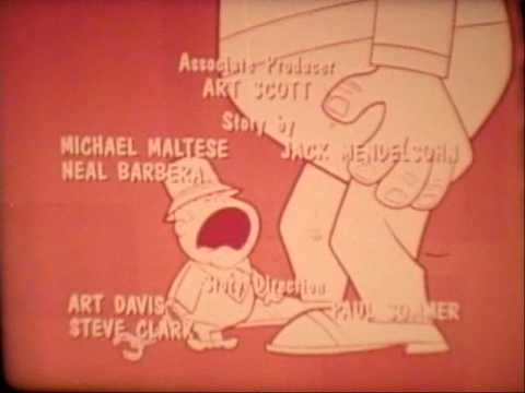 ABBOTT AND COSTELLO CARTOON SHOW Original Rare Open/Close titles and credits