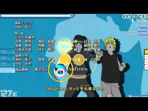 Osu-Anime Naruto Shippuden Ending DOMINO - U Can Do It!