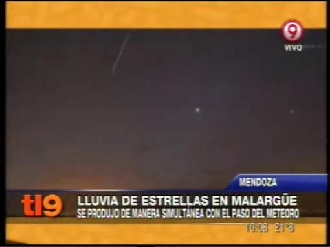 LLuvia de estrellas - LLuvia de meteoritos en Malargüe - Mendoza - Argentina.
