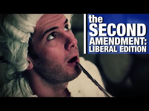 The 2nd Amendment: Liberal Edition