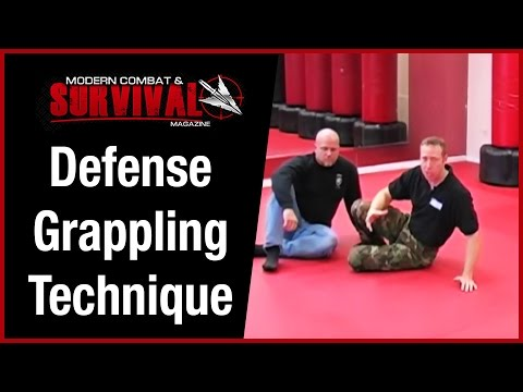 Ground Fighting Self Defense Grappling Technique Image 1
