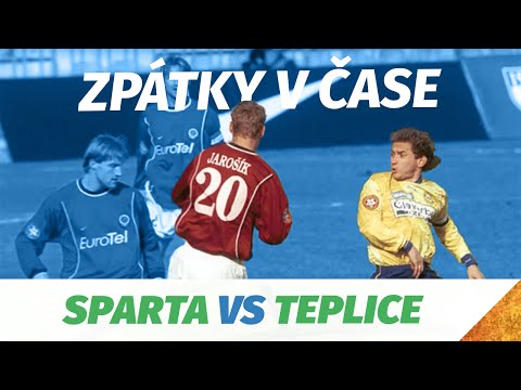 Zpátky v čase - infarktový duel mezi Spartou a Teplicemi