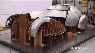 1939 Bugatti Type 64 build - restoration video (part one)