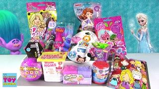 Disney Gift Ems Barbie Pets Trolls Shopkins MLP Blind Bag Opening | PSToyReviews