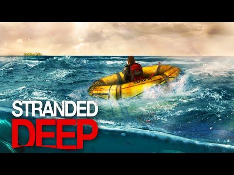Stranded Deep: Alpha Gameplay - Em Alto Mar Indo Para Outra Ilha! video