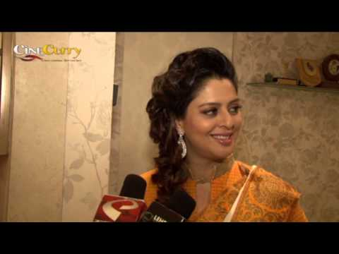 Nagma at Independence Day theme look