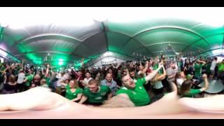 Ireland v Italy - Goal Reaction 360°