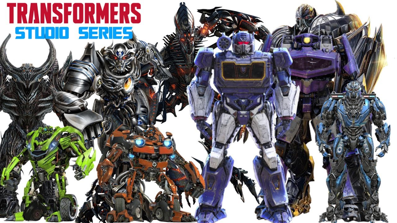 Transformers Studio Series Top 5 Most Wanted Figures 2021