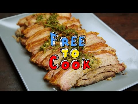 How to Cook BBQ Pork Belly.