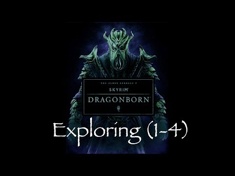 """exploring (1-4) "" - Skyrim - Dragonborn Dlc Soundtrack (by Jeremy Soule)"