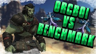 HROTHGAR ORCBOI vs SHADOWBRINGERS BENCHMARK - Twitch Highlights
