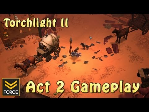 Torchlight 2: Act 2 (Gameplay)