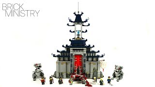 LEGO 70617 The LEGO Ninjago Movie ● TEMPLE OF THE ULTIMATE WEAPON
