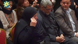 لحظة الصدمة والذهول بتكريم والدة شهيد رفح إسلام زهران فى حملة