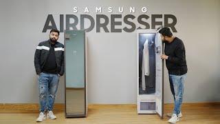 Samsung AirDresser: Smart Clothes Cleaner + Sanitiser!