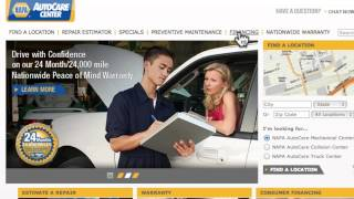 video Welcome to carcareconnect Digital Hangout. For today session, we're going to discuss the marketing benefits of your national web presence napaautocare.com. A...