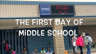 The First Day of Middle School