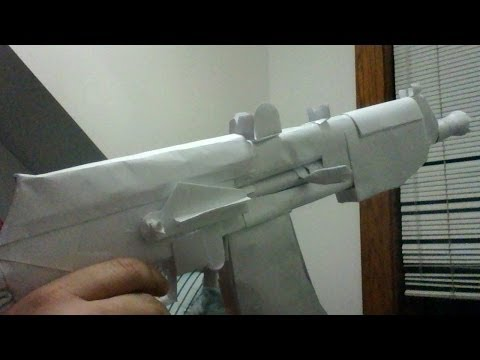 How To Make a Paper AK74u Tutorial part (1)