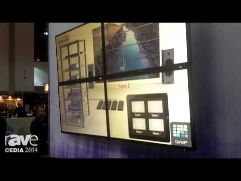 CEDIA 2014: Avenview Showcases Its Darbee-Enabled 4×4 HDMI Matrix Switcher