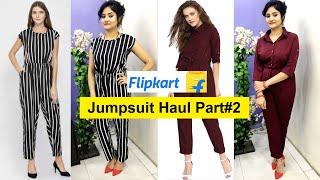 *NEW* Jumpsuit Haul 2019   Flipkart Jumpsuit Unboxing & Review   Best Dress for Summer