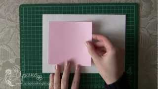 3D открытка с сердечком: мастер класс (3D card with heart tutorial)