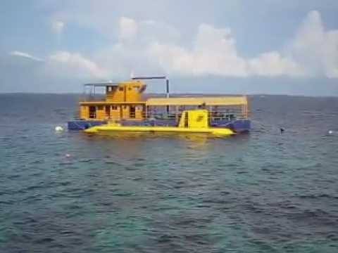 Tourist Submarine in Cebu