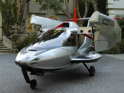 Honda Jet Ski >> A Plane You Can Park in the Garage: The ICON A5 - YouTube