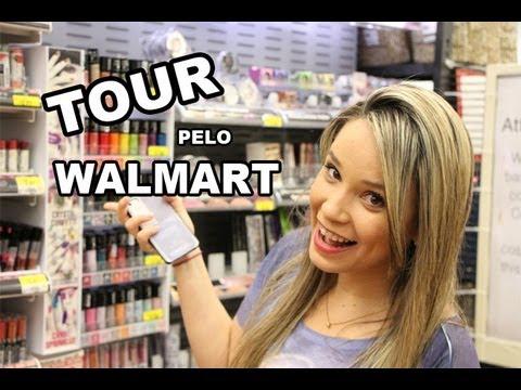 Tour pelo Walmart | Maquiagens