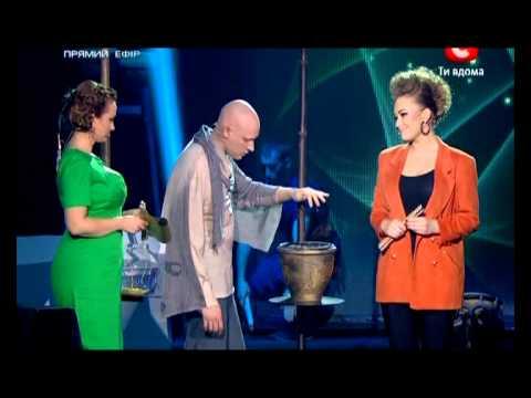 Яна Соломко на шоу Феномен 2 часть
