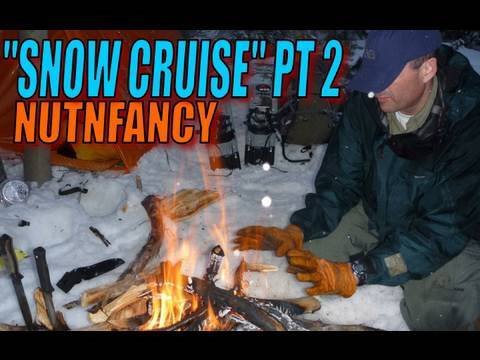 Snow Cruise Pt 2 with Allie the Mtn Dog and Nutnfancy