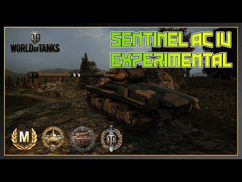 World of Tanks // Sentinel AC IV Experimental // Ace Tanker // Devastator // Xbox One