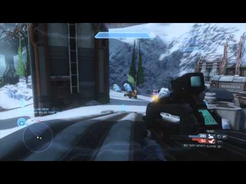Halo 4 - Perfection & Rampage - Big Team Infinity Slayer - Multiplayer/War Games Gameplay