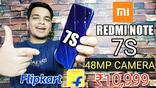 Xiaomi Redmi Note 7S India 48mp Price,Launch Date,Specifications - Sabse Sasta 48mp Wala Phone? ⚡