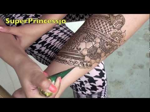 How to MAKE Henna Design Mehandi design for feet Mehendi Art Indian Pakistani Arabic Henna
