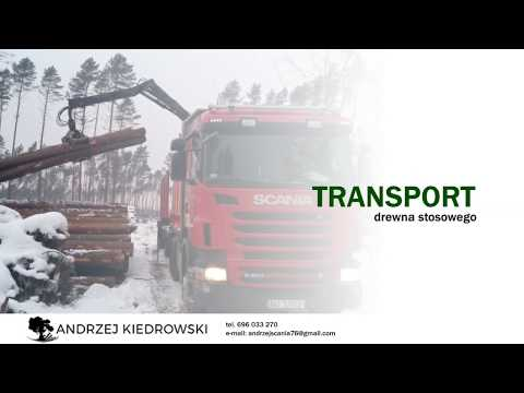 Transport Drewna Usługi Transportowe Chojnice Transport Ciężarowy Andrzej Kiedrowski