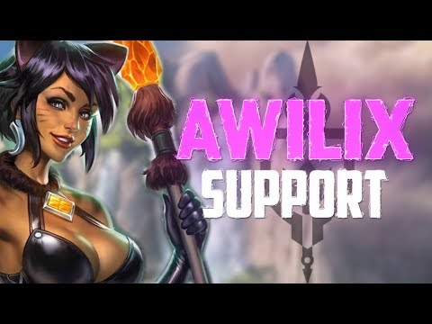 Awilix Support: THE BEST CROWD CONTROL IS DEATH! - Incon - Smite
