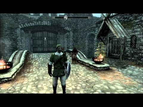 Zelda - Link's Armor / Weapon : Skyrim Mod Reviews