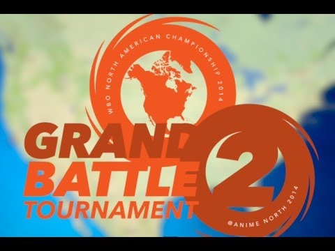 World Beyblade Organization (WBO) competitive organized play. Beyblade Grand Battle Tournament 2 by WBO at Anime North 2014 in Toronto, ON, Canada. HUGE NEWS...