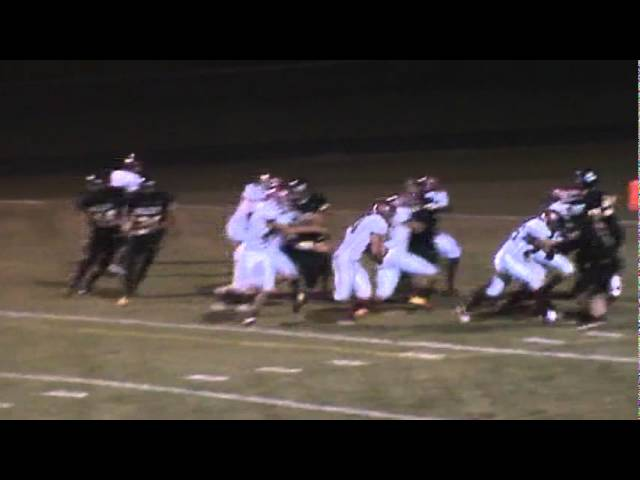 10-7-11 - Connor Weisser scores his 3rd touchdown (Brush 29, Valley 13)