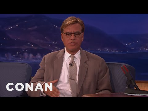 Aaron Sorkin On Steve Jobs  - CONAN on TBS