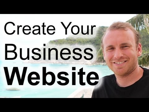 Make a Small Business Website - 2013